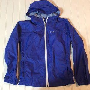 Girl's Columbia light jacket, size Small